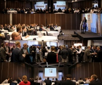 Conference panorama photography
