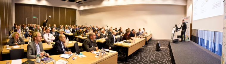 Conference photography panorama