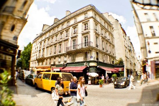 Paris, fisheye