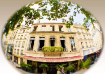 Paris, fisheye