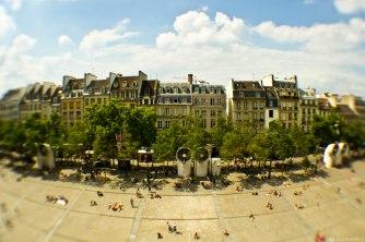 pompidou, Paris, fisheye
