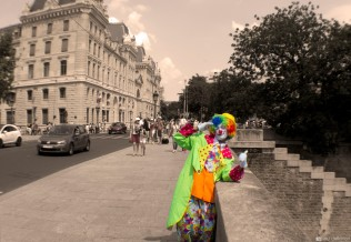 clown, Paris