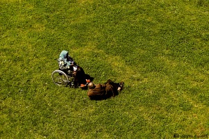 Toulouse, green, arab couple,