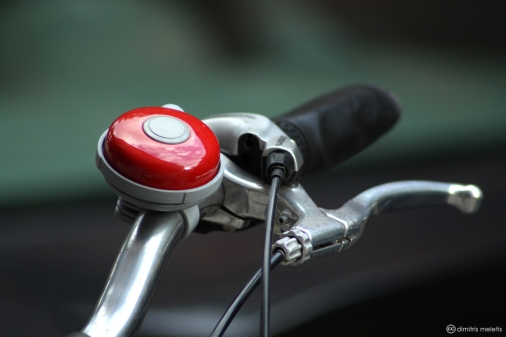 New York, NY, NYC, bike, red, bike bell