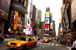 new york, NY, NYC, time square, traffic, taxi
