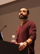 Conference photography - speaker portrait