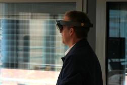 VR test during a medical conference